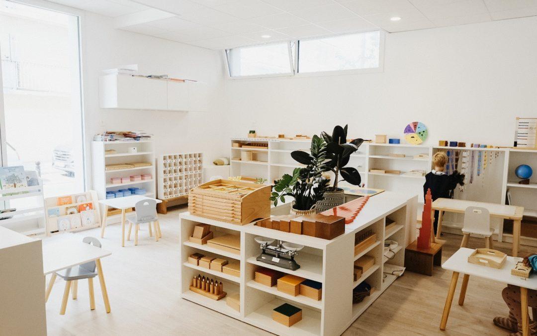 L'organisation d'une classe Montessori