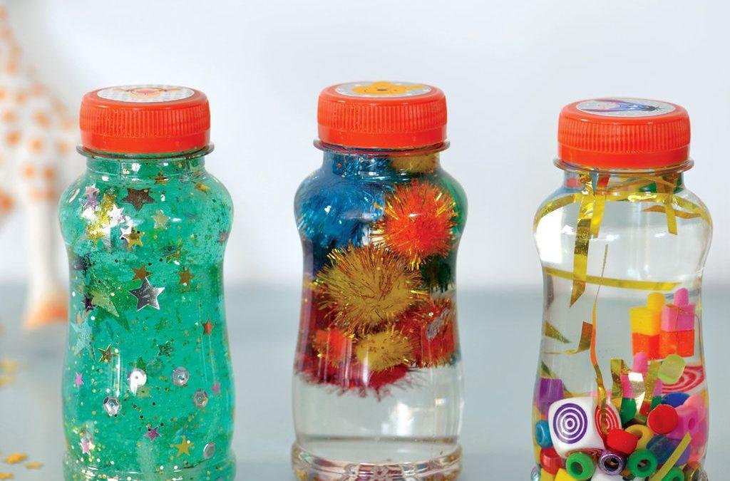 La méthode de la bouteille pour calmer les enfants