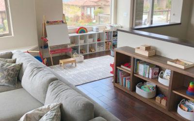 Préparer l'espace pour enseigner Montessori à la maison