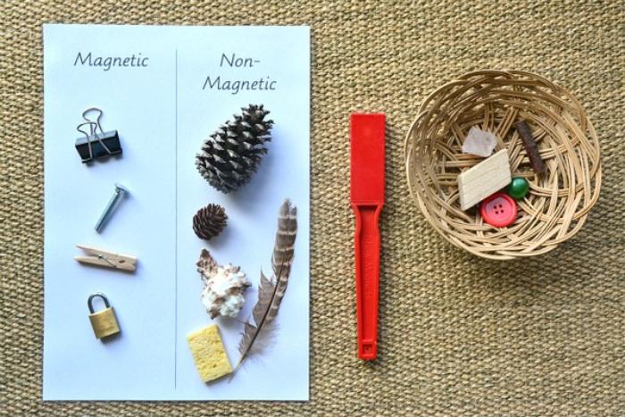 Deux activités Montessori à faire avec des objets de la maison