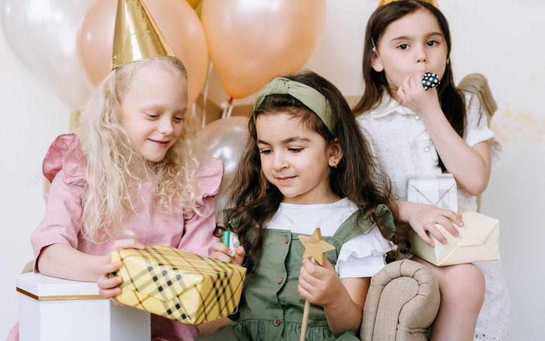 Idée cadeaux d'anniversaire (3-5 ans)
